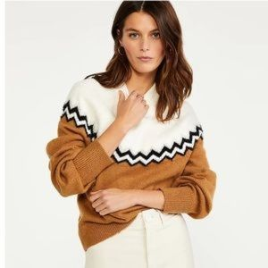 Ann Taylor Oversized Sleeve Sweater